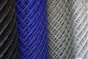 Obrázek z Poplastované pletivo modré 100 cm vysoké
